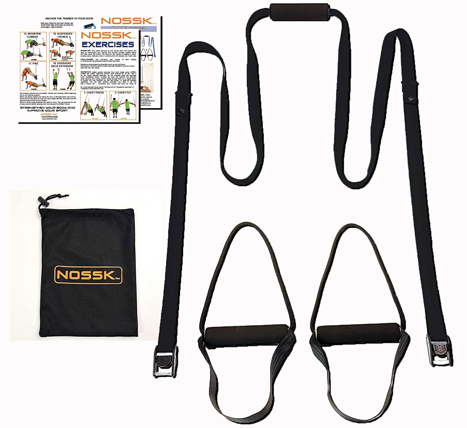 nossk workout straps