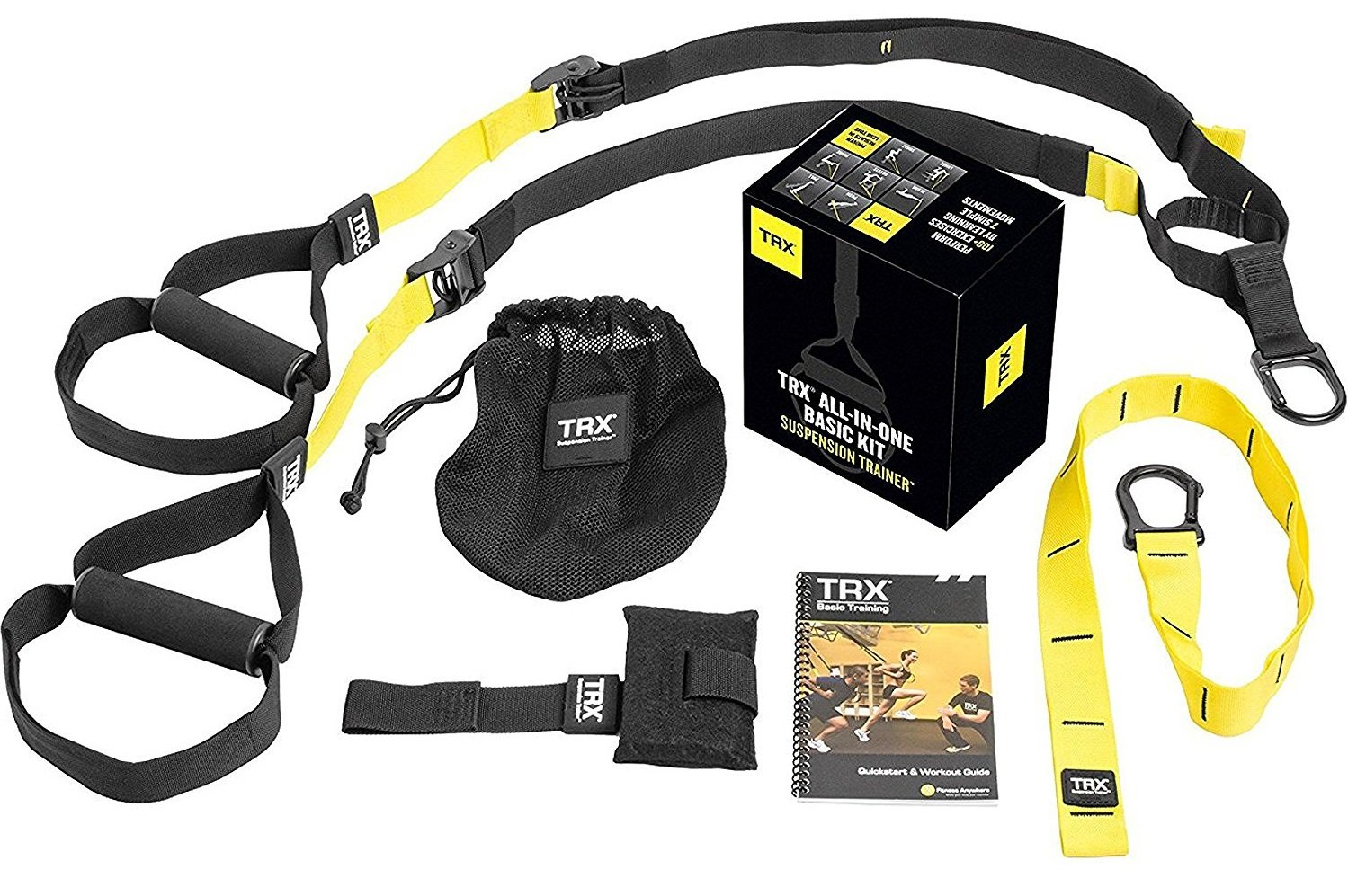 trx suspension training equipment kit