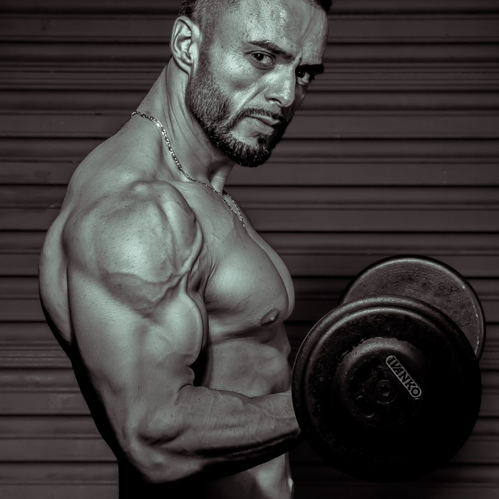 workout with just dumbbells