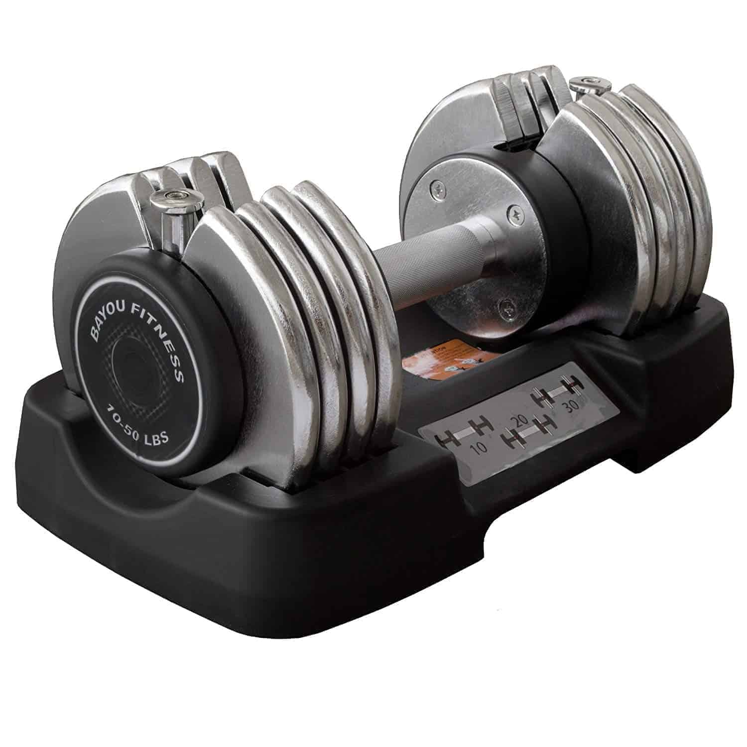 Bayou Fitness selectable hand weights