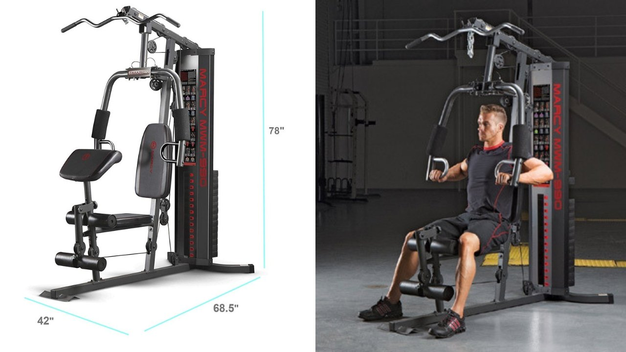 Marcy MWM-990 Fitness Gym