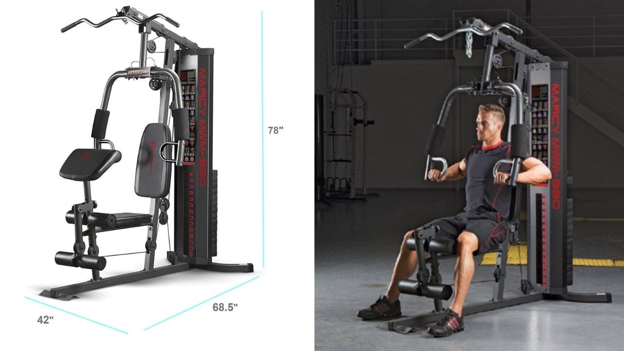 Marcy MWM-990 Fitness Gym