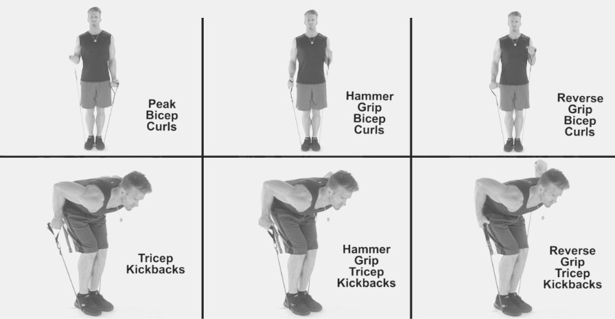 exercise equipment for arms