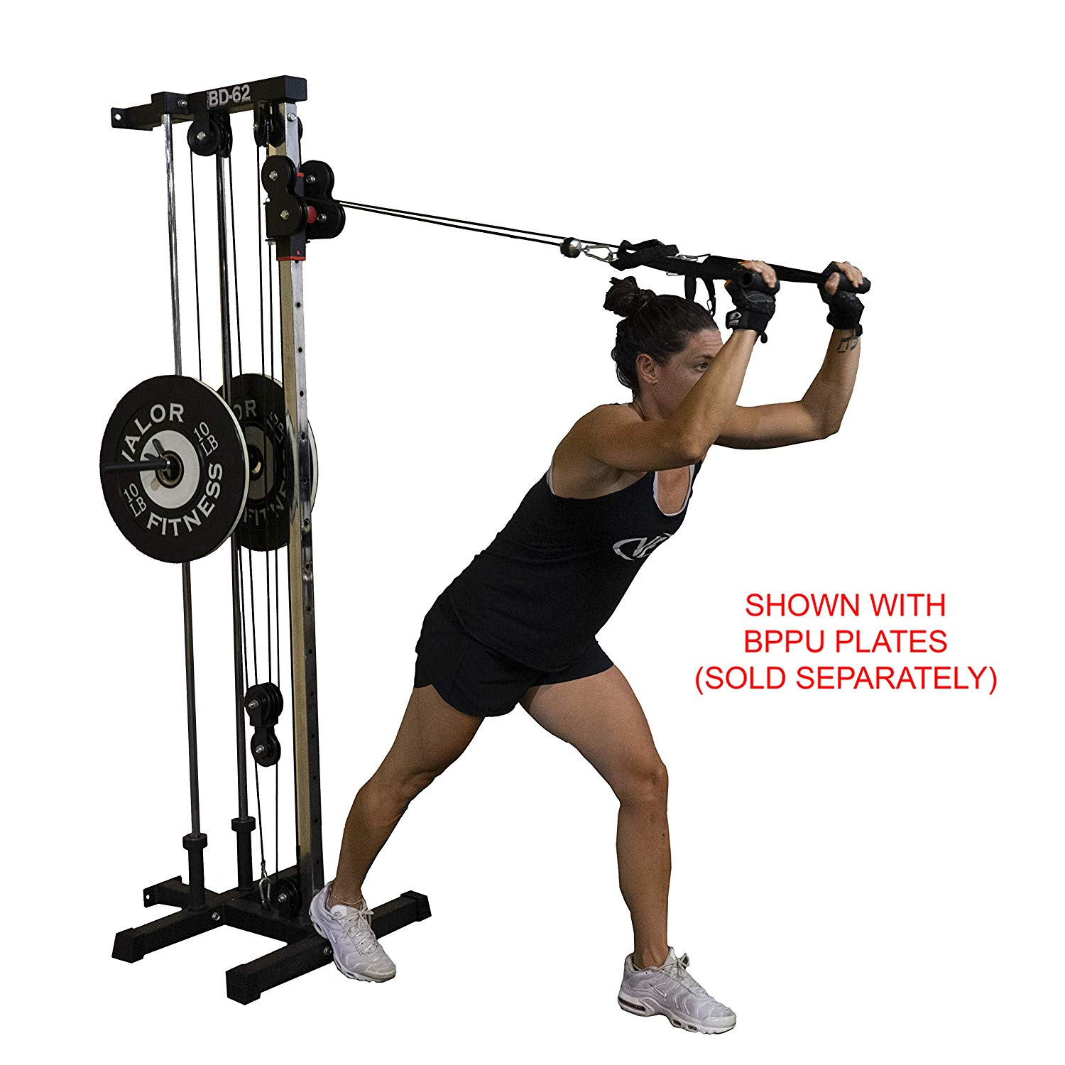 Valor Fitness BD-62 workout cable system