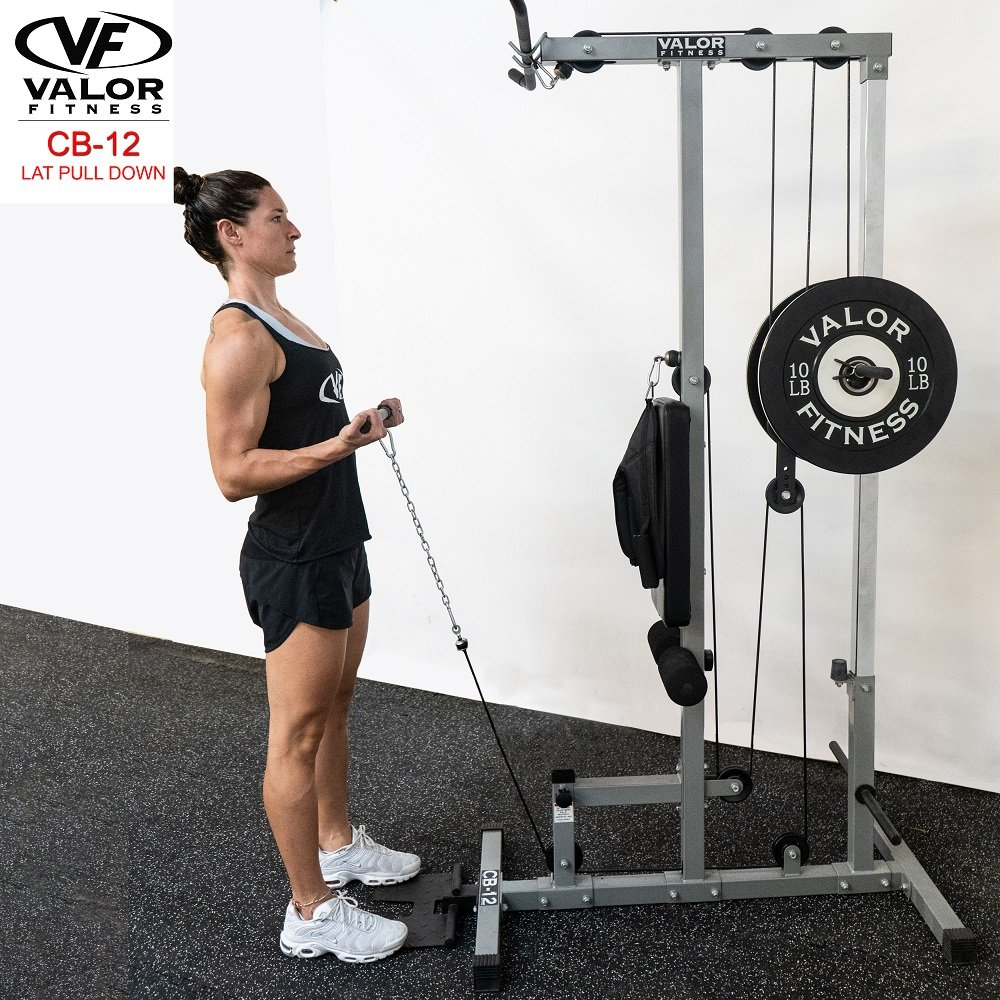 Valor Fitness CB-12 Lat Pull Down machine