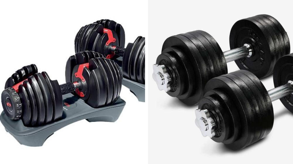 regular vs dial hand weights