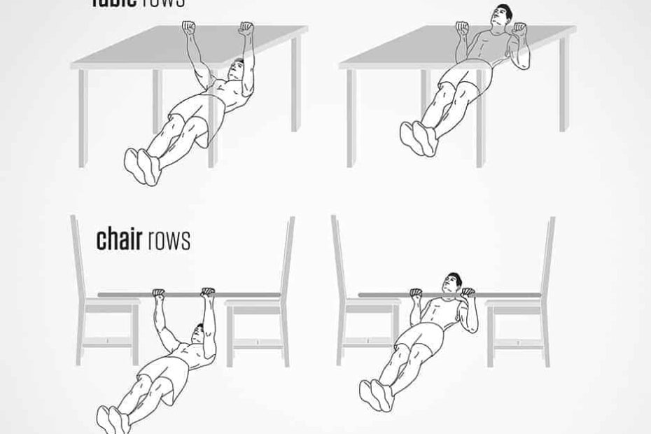 Pull Ups Without a Bar