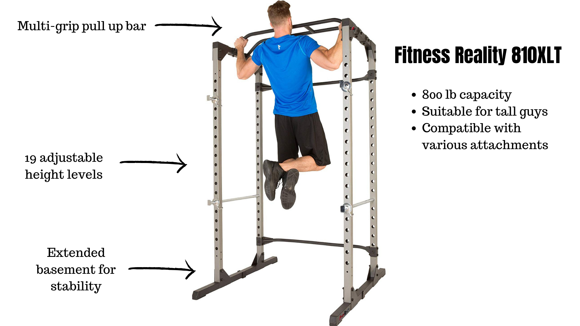 affordable Fitness Reality 810XLT Super Max Power Cage