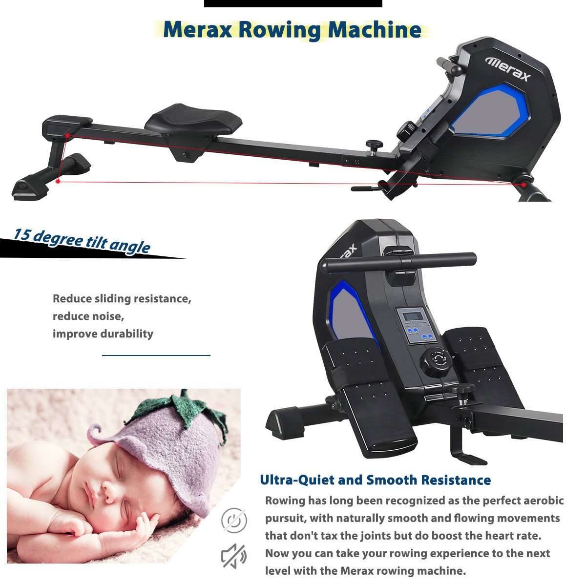 Merax magnetic adjustable rover