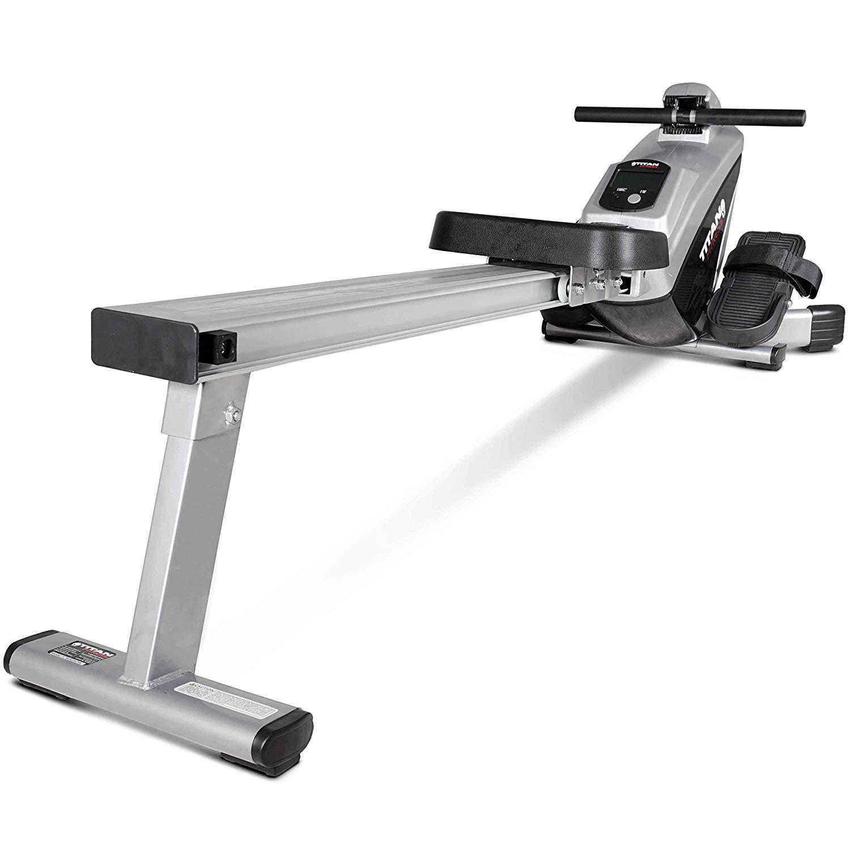 titan fitness rower