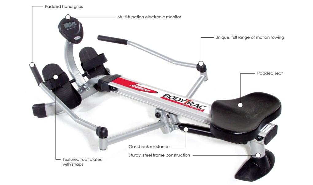 stamina body trac glider 1050 features