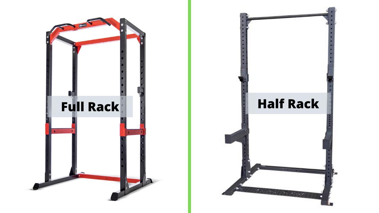 full vs half squat rack