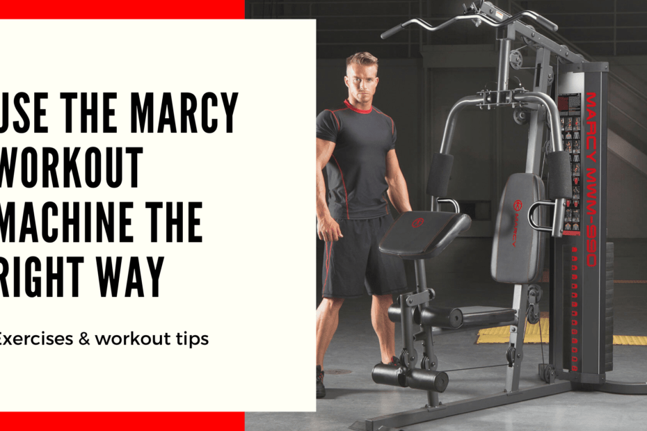 marcy home gym workout