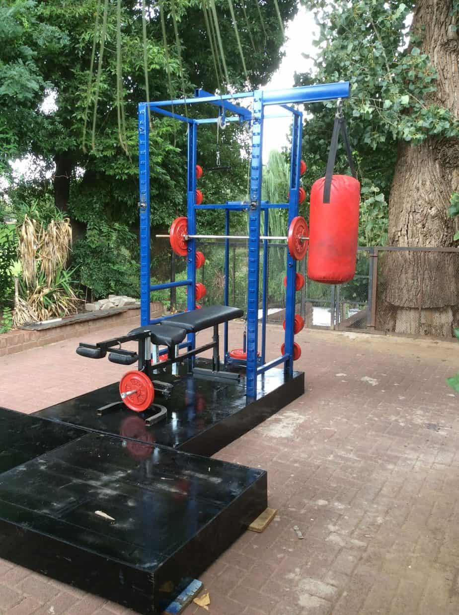 Weight Lifting Outdoor