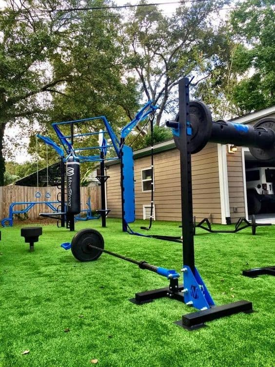 full gym outdoor